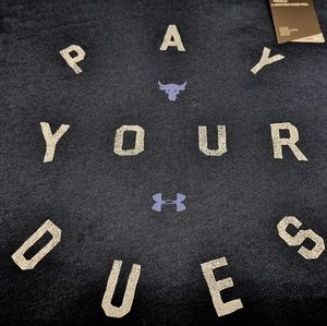 UA x Project Rock Pay Your Dues XL Women's